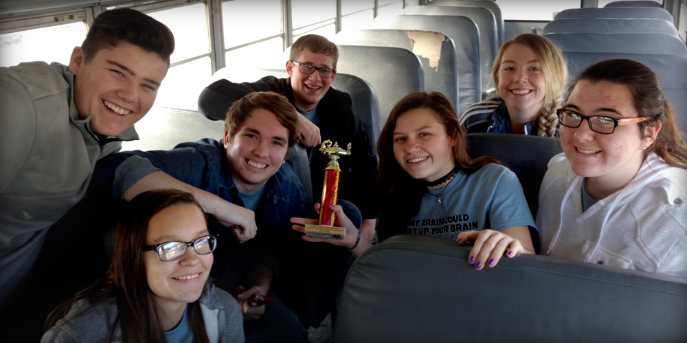 Quiz Bowl Team Takes Second Place