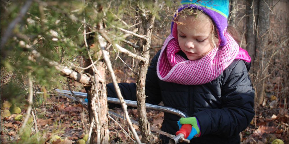 Christmas Tree Treasure Hunt