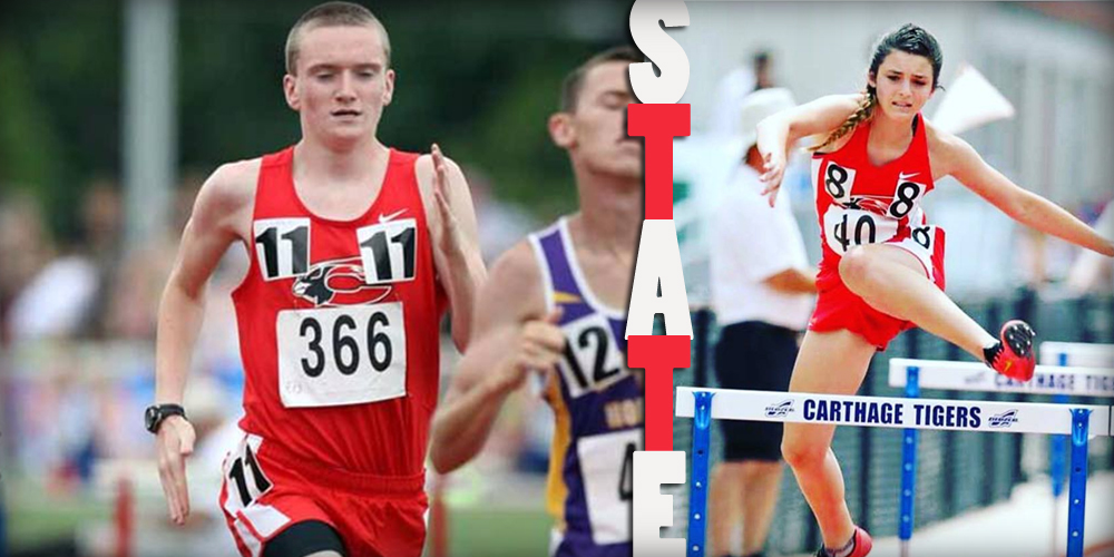 Runners Compete at State