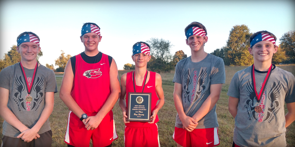 XC Enjoys First Place Team Honors